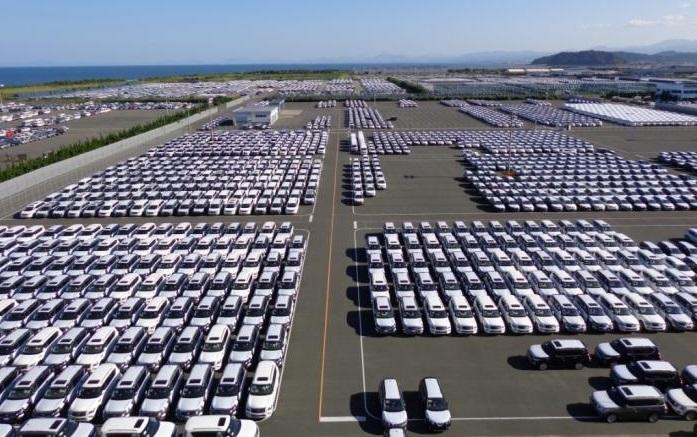 Nissan Kyushu plant in Japan