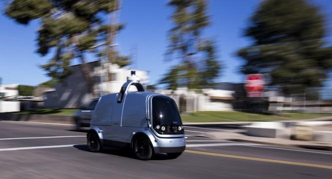 Nuro self driving vehicle