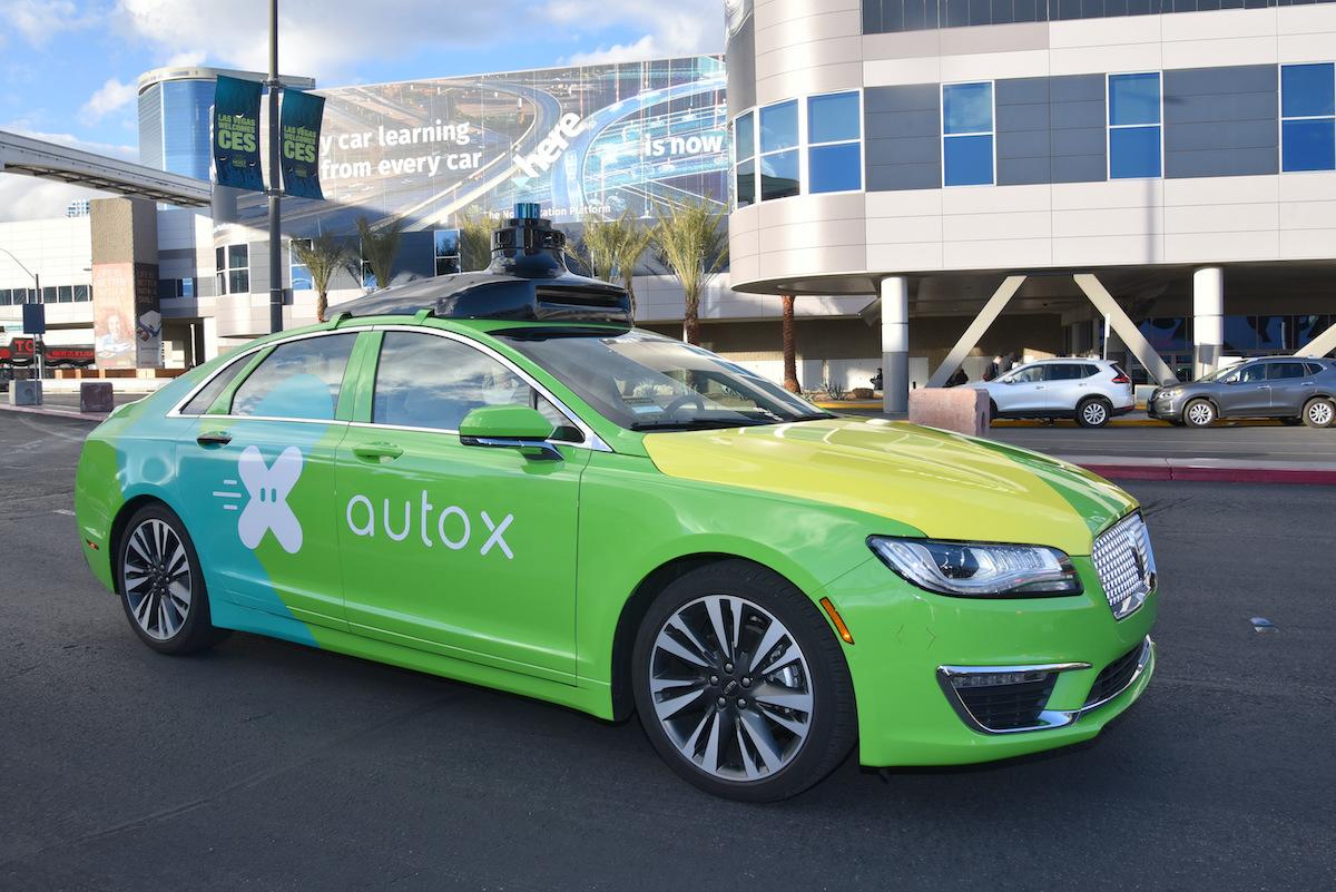 AutoX self driving