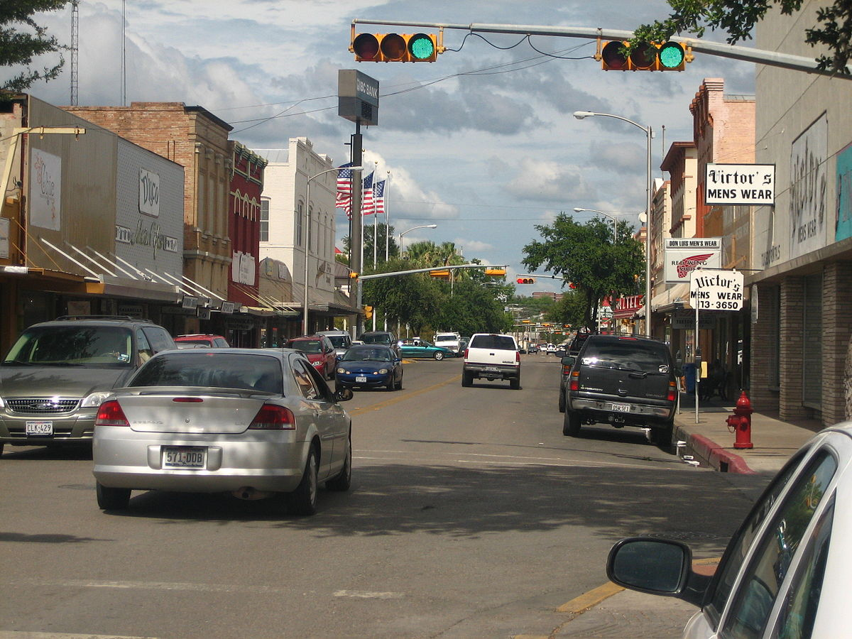Eagle Pass Street, Texas