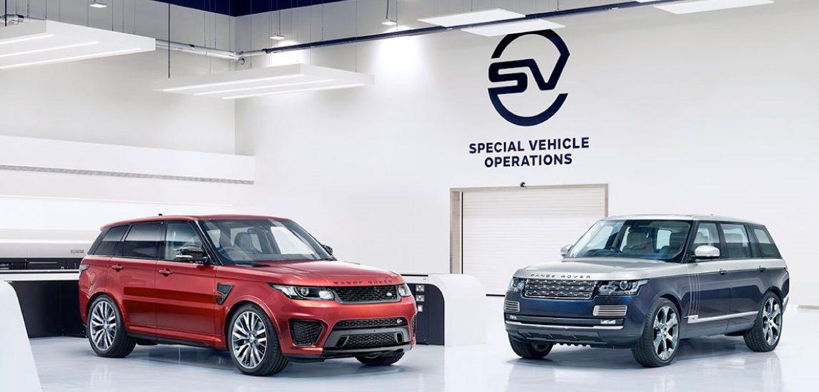 Jaguar Special Vehicle Operations