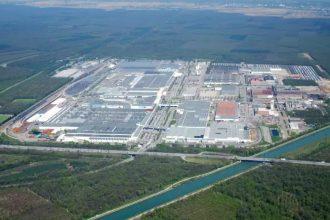 PSA Mulhouse plant