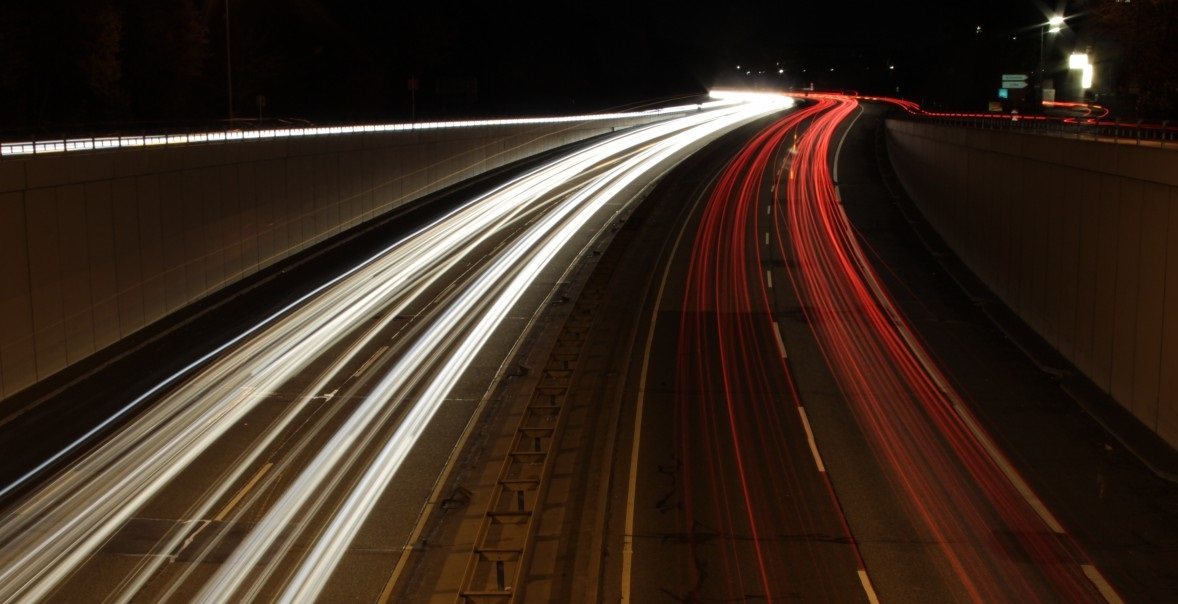 Nighttime journey