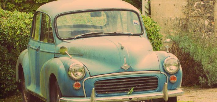 old banger car