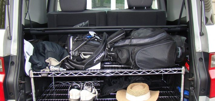 Wire shelving for your car