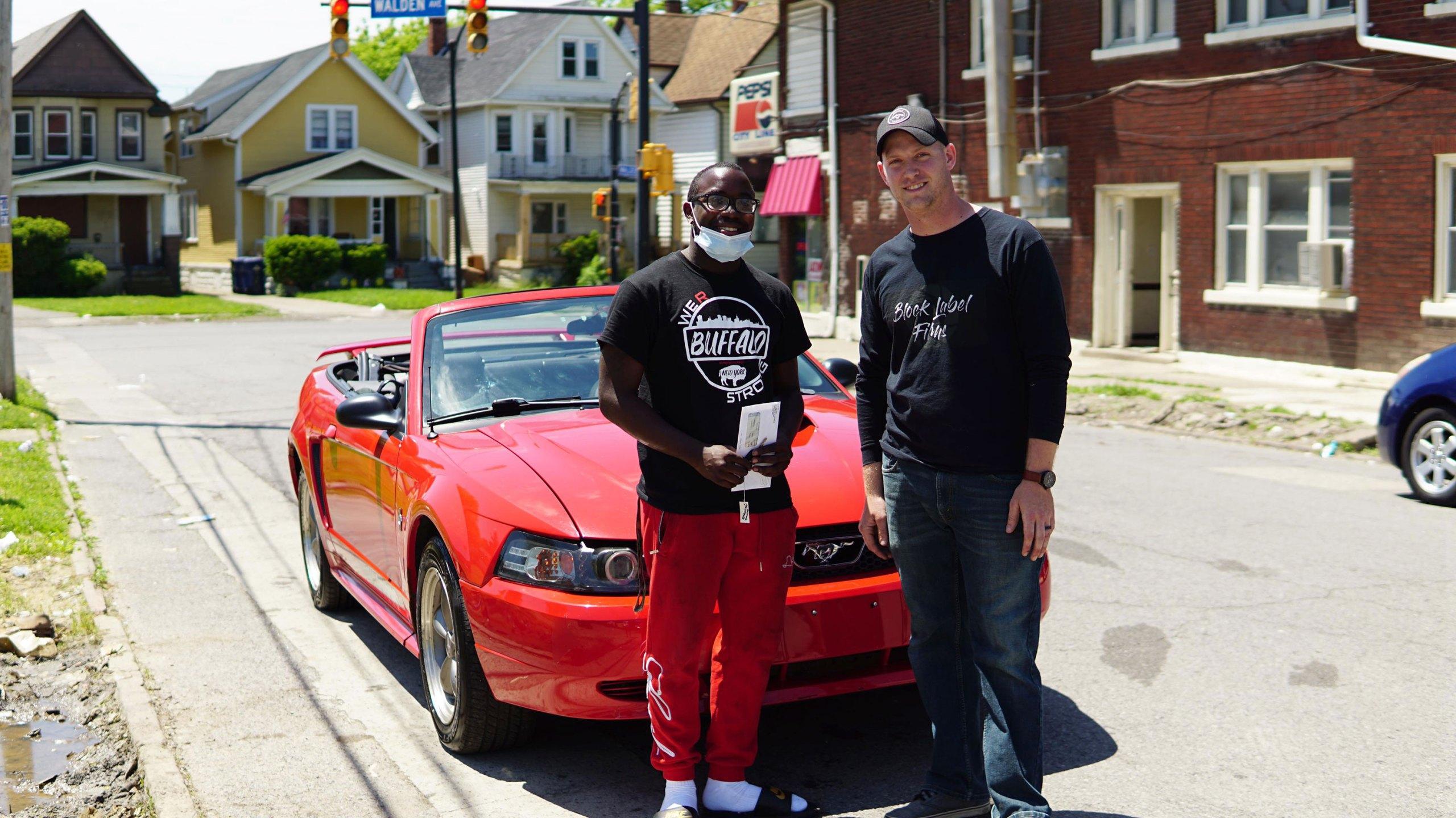 Buffalo teen Antonio Gwynn Jr., gets car and college scholarship
