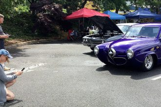 Cruz car show on the Port Orchard Waterfront in 2017
