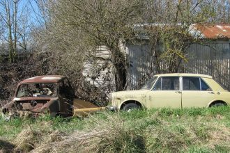 Derelict vehicles