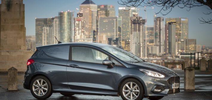 Ford Introduces Fuel Efficient Mild Hybrid Technology to Fiesta Van