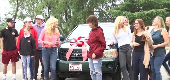 Keanna Carbajal gifted a SUV