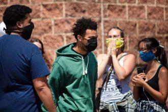 Matthew Bruce Black Lives Matter organizer arrested in Des Moines, Iowa