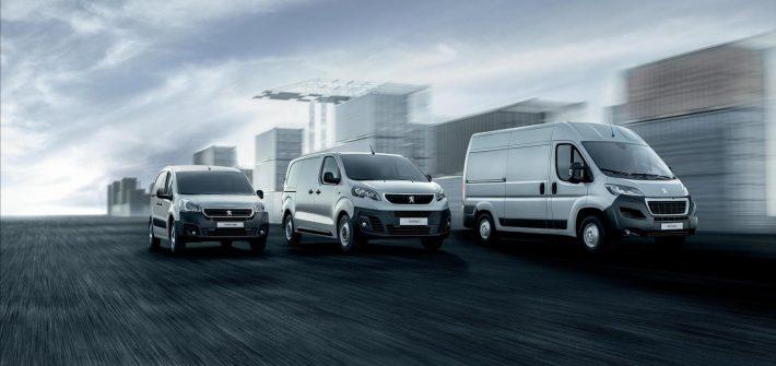 Peugeot light commercial vehicle (LCV) range