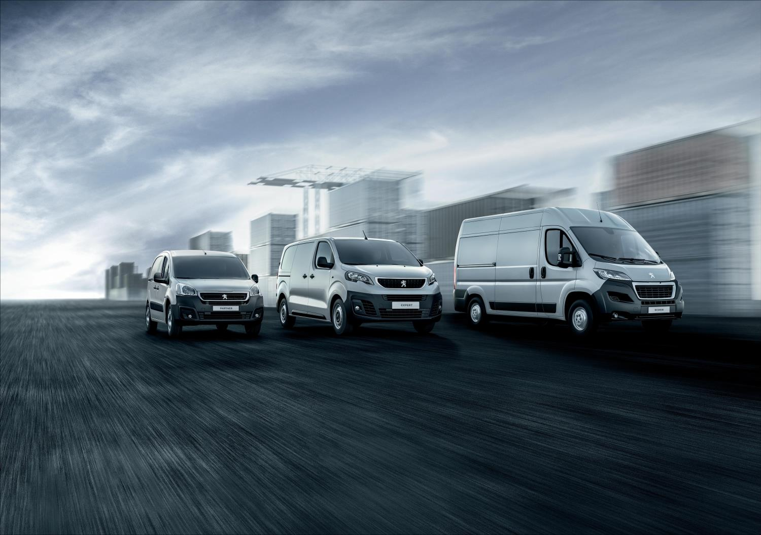 Peugeot light commercial vehicle (LCV) range