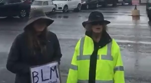 Vancouver BLM car protests