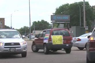 car parade in grand island, nebraska