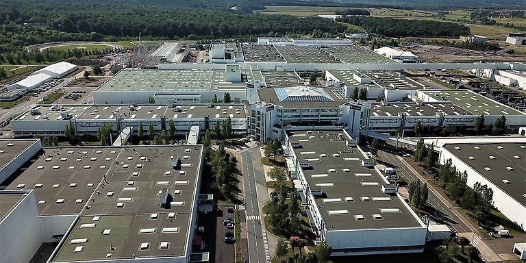 Daimler plant in Hambach, France