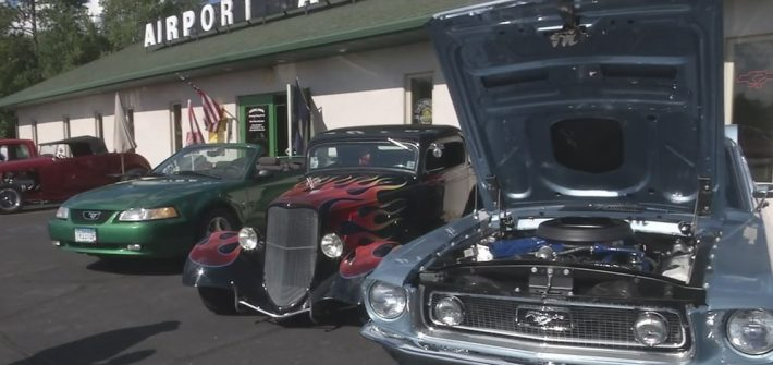 Duluth airport car show