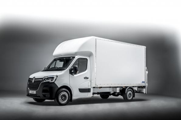 Renault Master Z.E. Luton Box Van