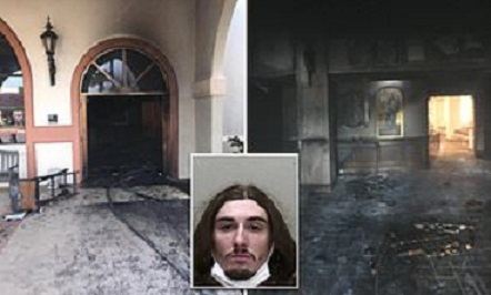 driver arrested who plowed into a Ocala church in Florida