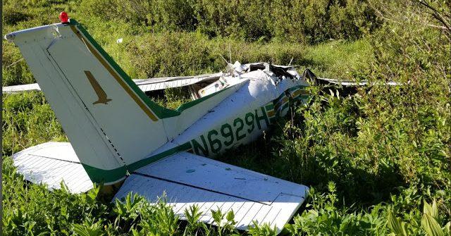Plane crash in American Fork Canyon, Utah