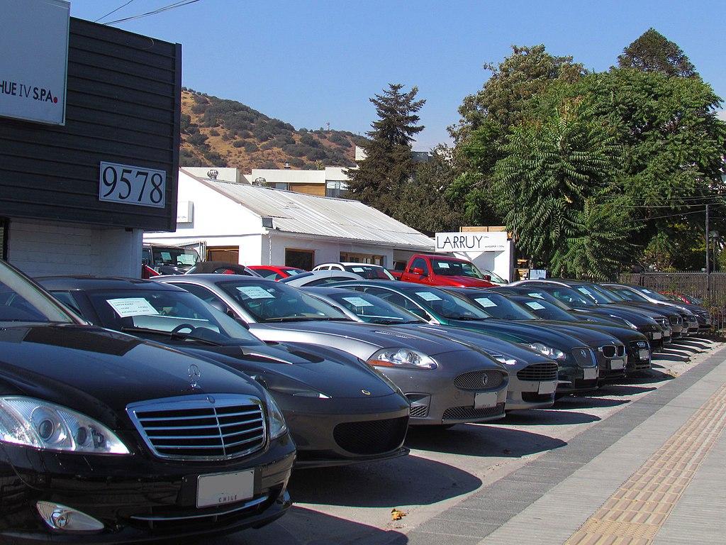 car dealership in Santiago, Chile