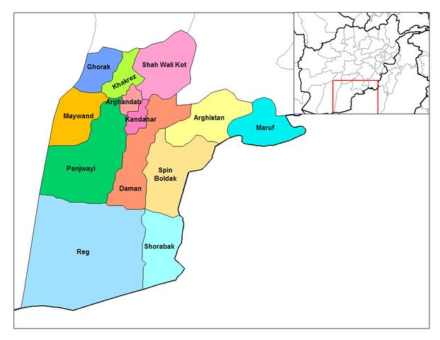 Kandahar in Afghanistan