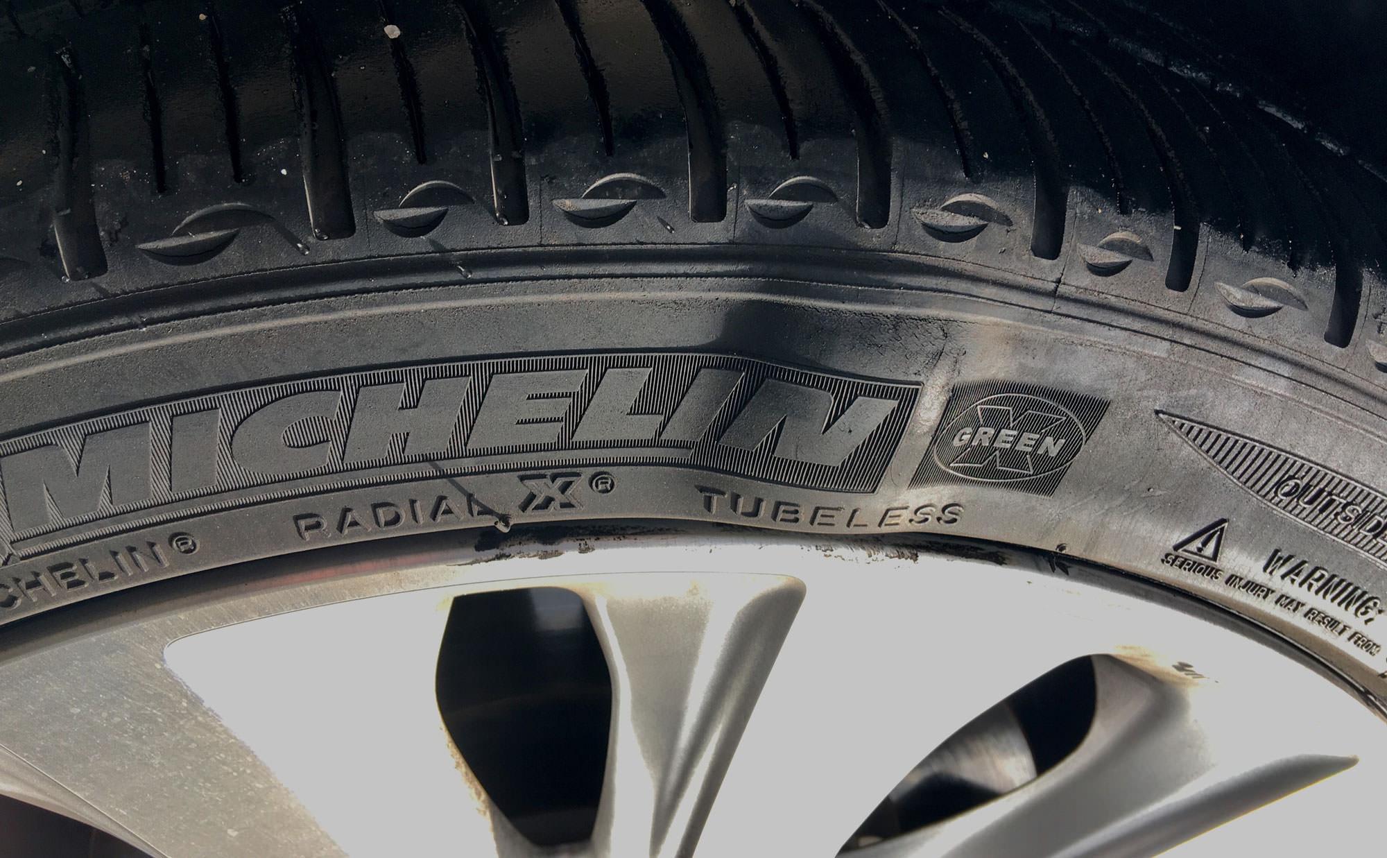 tyre bubbles
