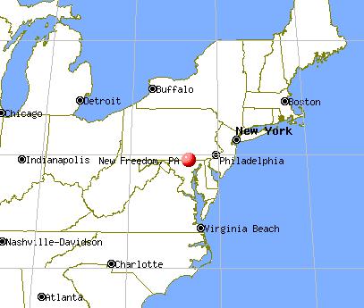 new freedom, pennsylvania