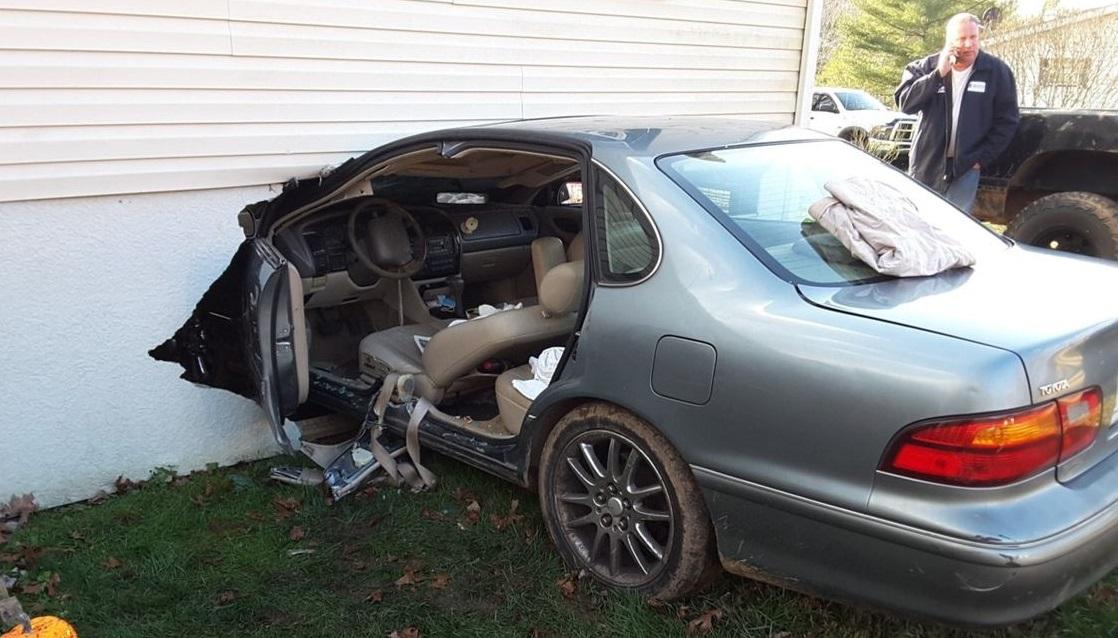 Bedford County, Virginia home crash