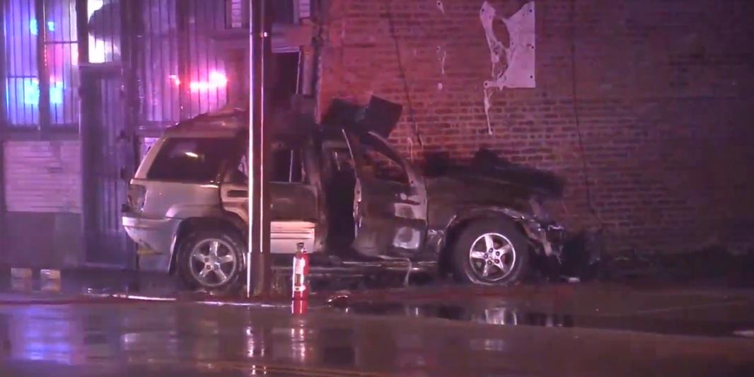 4 killed in a crash in Cicero, Illinois