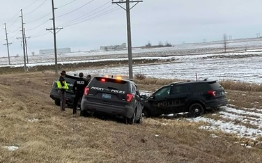 14 year old girl steals police car in Iowa