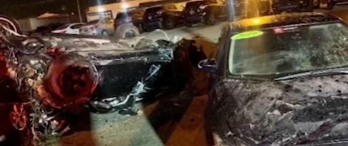 Bedford Nissan dealership damaged in Ohio