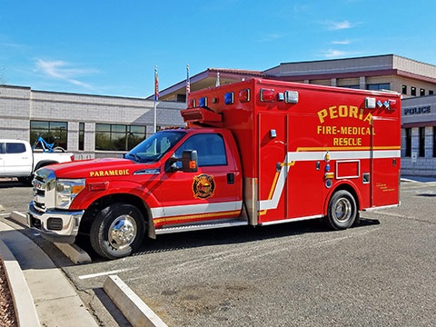 Peoria Fire Vehicle