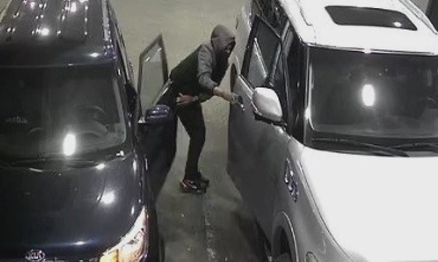 car stolen at Costco gas station in New Orleans