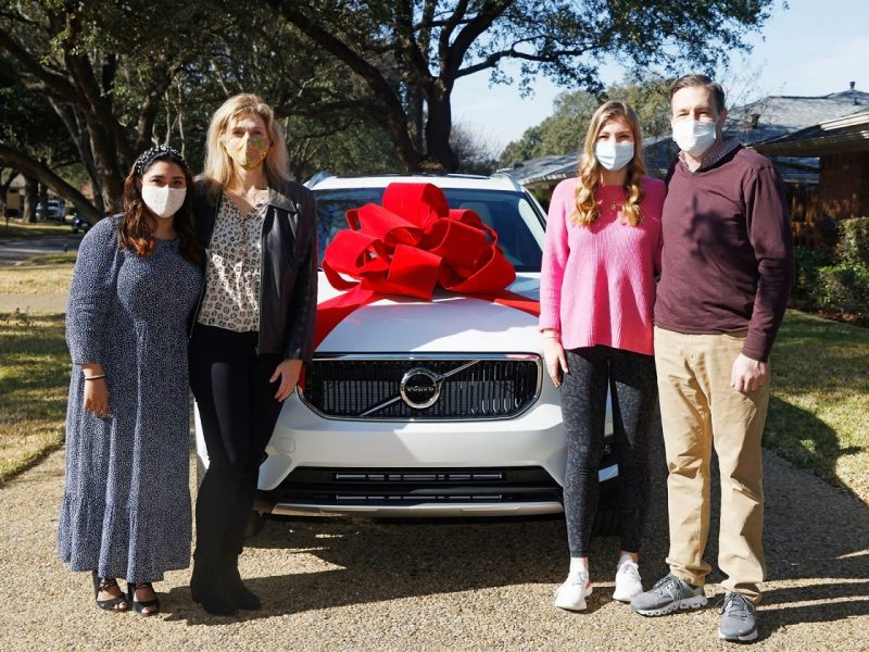 Dallas woman wins car for her family during coronavirus pandemic
