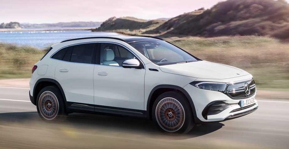 mercedes EQA compact SUV