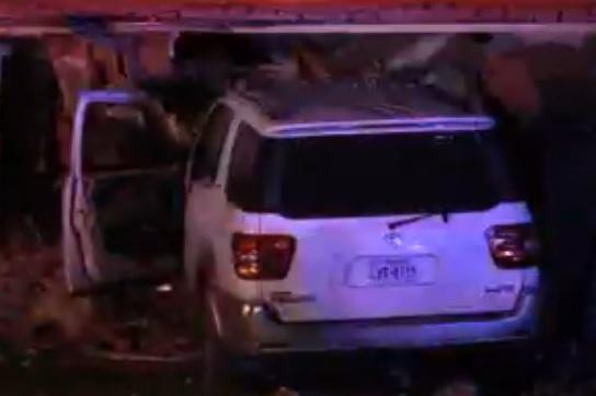 Car crashes into a home in Orange, Texas