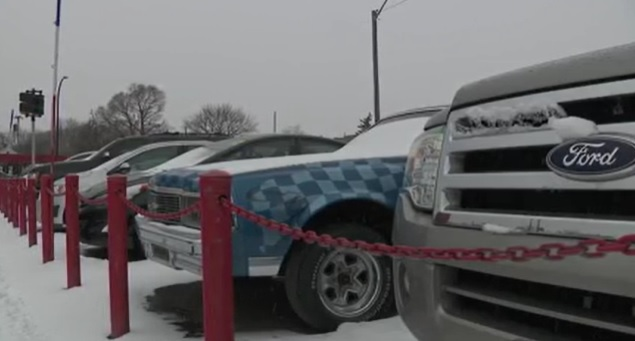 Andy's Auto Sales targeted in car theft