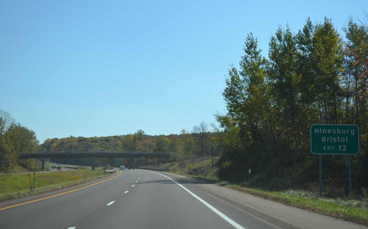 I-89 in South Burlington, Vermont