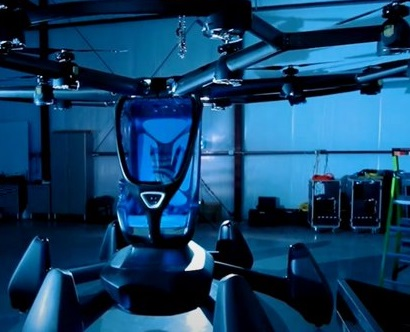 LIFT aircraft flying car HEXA aircraft