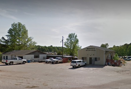 Mahaffey's Used Cars & Parts, in Lancaster County, South Carolina