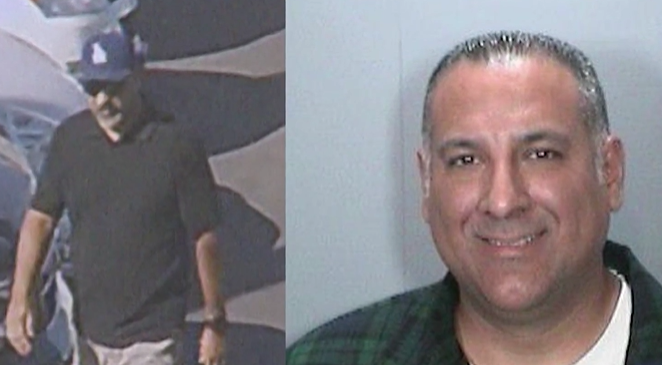Matthew Calleros, LAPD officer allegedly stole pickup truck