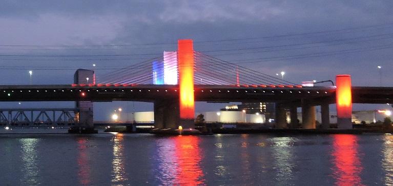 Pearl Harbor Bridge in New Haven, Connecticut