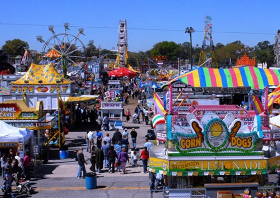 Strawberry Festival Grounds in Florida