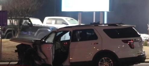 car crash in Fayetteville, North Carolina