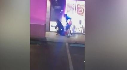 man arrested after his car hit by stockton police PD car, BLM claims