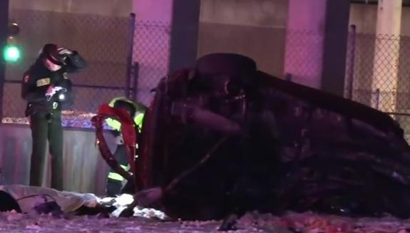 Two killed in Stevenson Expressway crash in Chicago