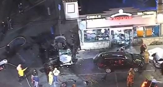 North Hollywood Liquor Store crash