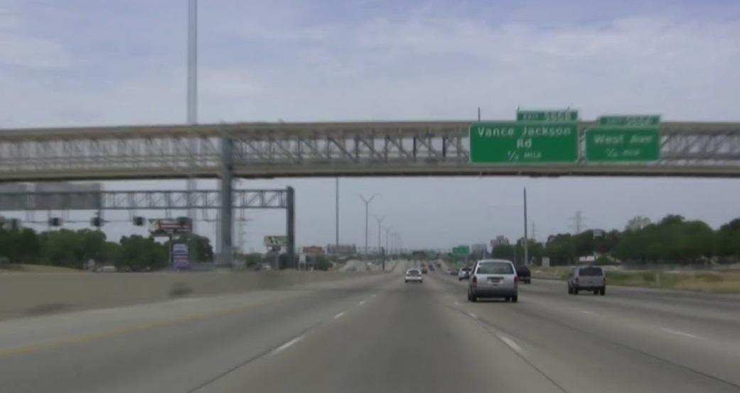 Interstate 10 in San Antonio, Texas