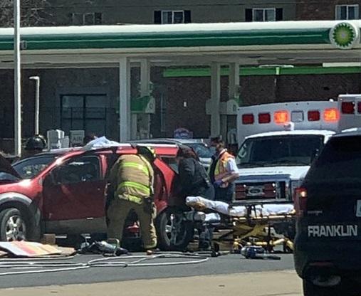 Franklin, Tennessee crash
